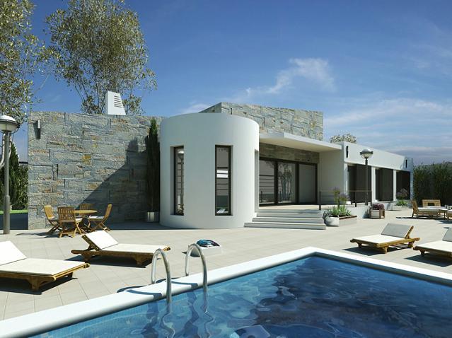 Дом в испании коста бланка фото